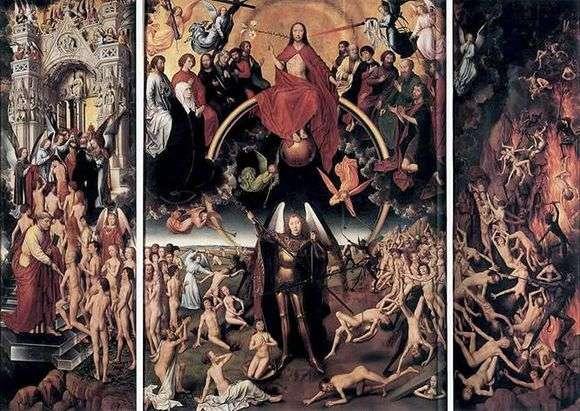 Описание триптиха Ганса Мемлинга «Страшный суд»