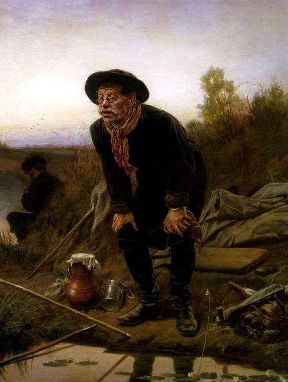 Описание картины Василия Перова «Рыболов»
