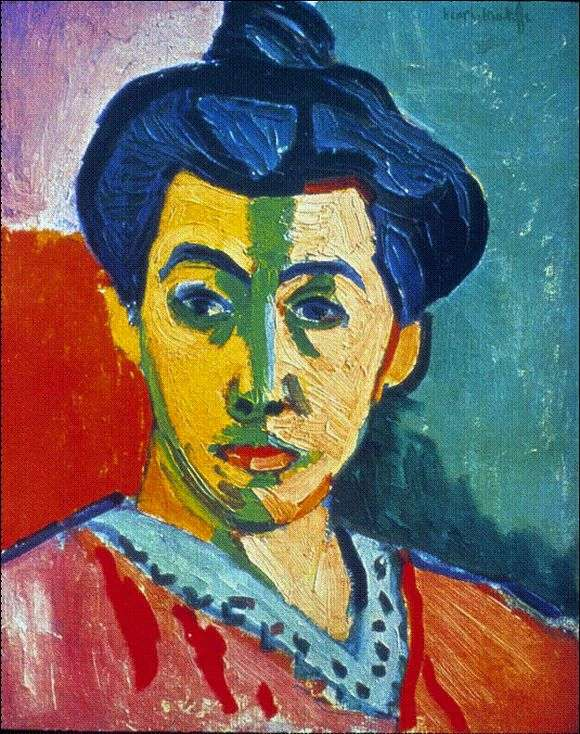 Описание картины Анри Матисса «Мадам Матисс»
