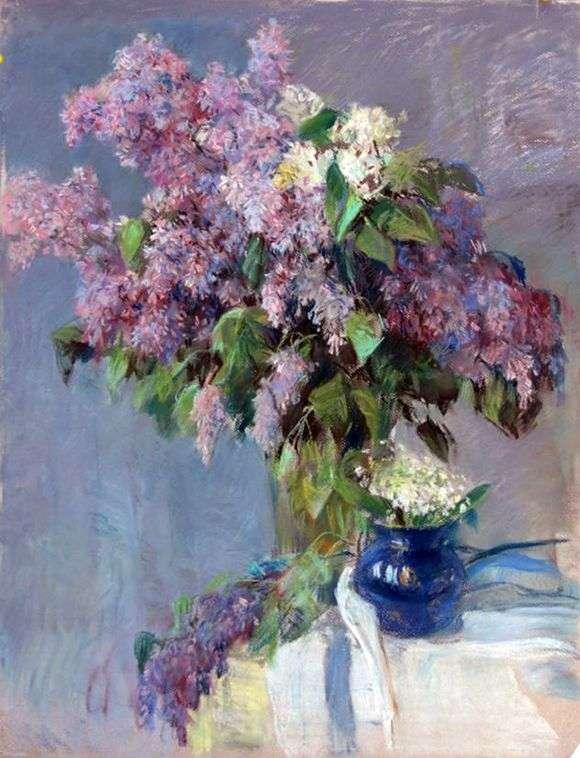 Описание картины Валентина Серова «Цветы»