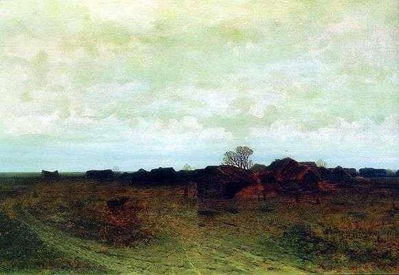 Описание картины Архипа Куинджи «Забытая деревня»