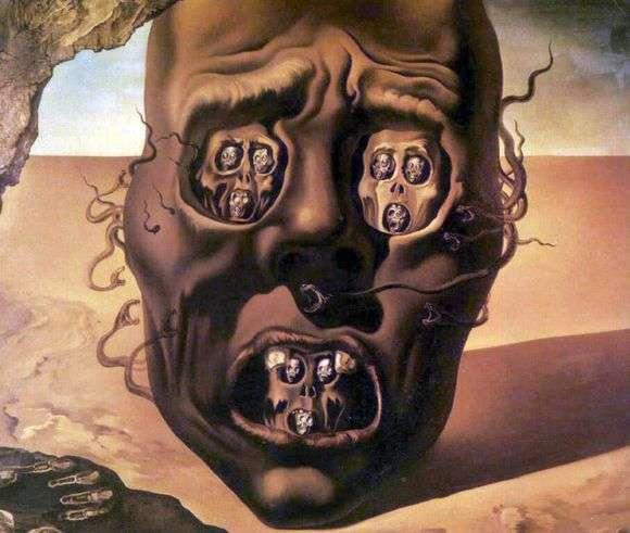 Описание картины Сальвадора Дали «Лицо войны»