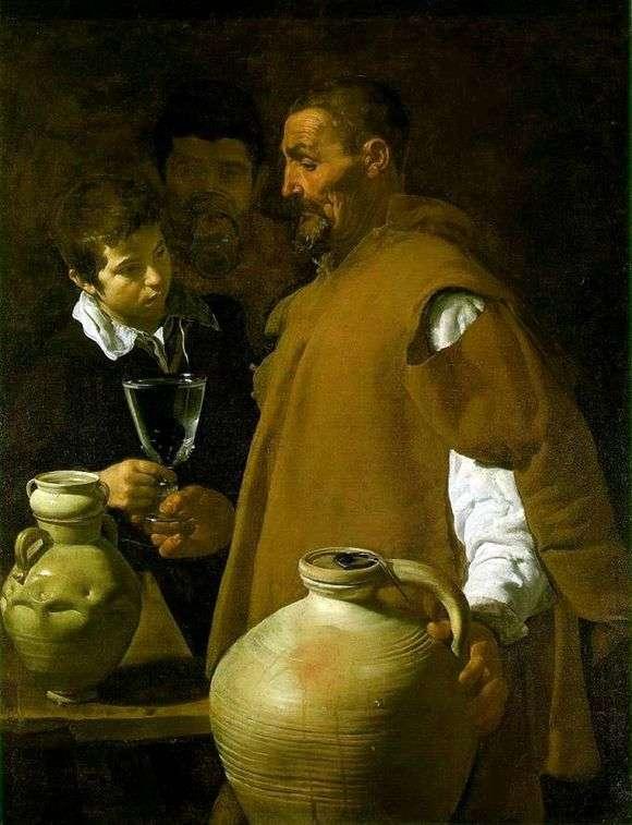 Описание картины Диего Веласкеса «Водонос»
