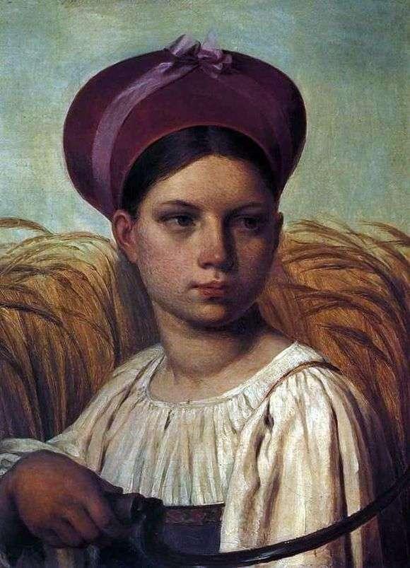 Описание картины Алексея Венецианова «Жница»