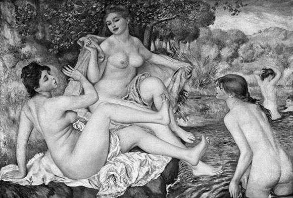 Описание картины Пьера Огюста Ренуара «Большие купальщицы»