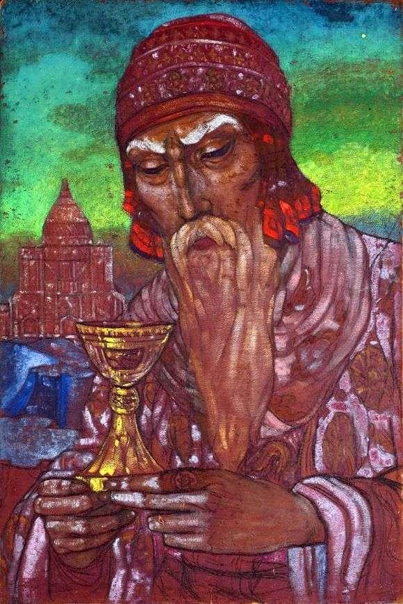 Описание картины Святослава Рериха «Царь Соломон»
