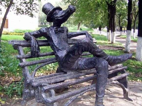 Описание памятника крокодилу в Ижевске