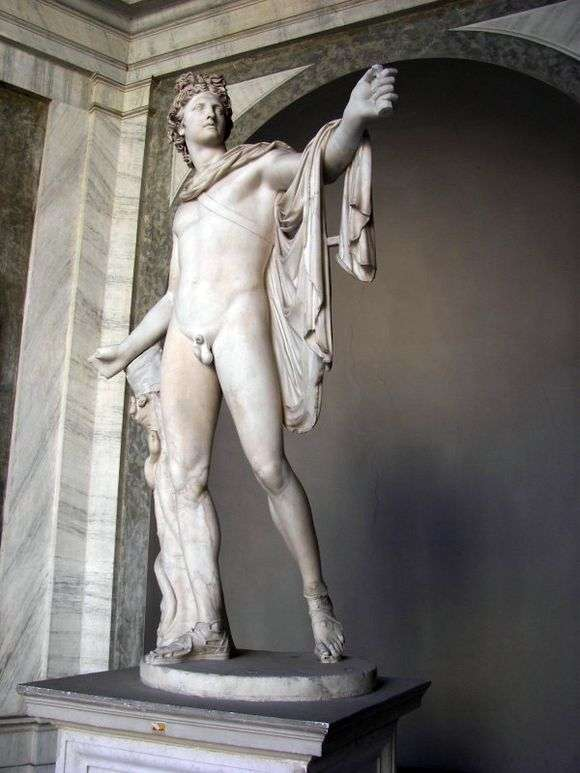 Описание скульптуры «Аполлон Бельведерский»