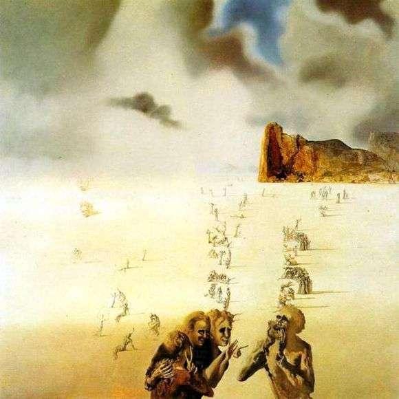 Описание картины Сальвадора Дали «Перспективы»