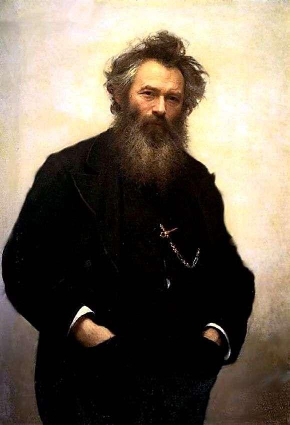 Описание картины Ивана Крамского «Портрет Шишкина»