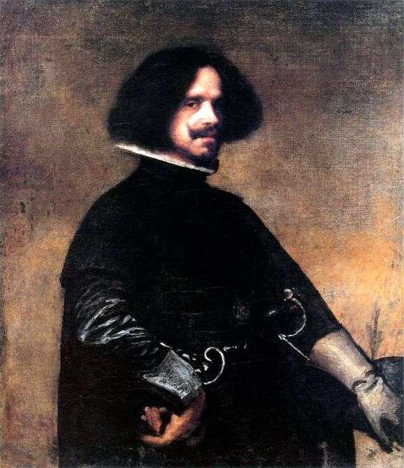 Описание картины Диего Веласкеса «Автопортрет»