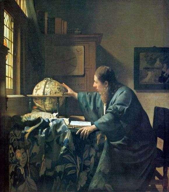 Описание картины Яна Вермеера «Астроном»