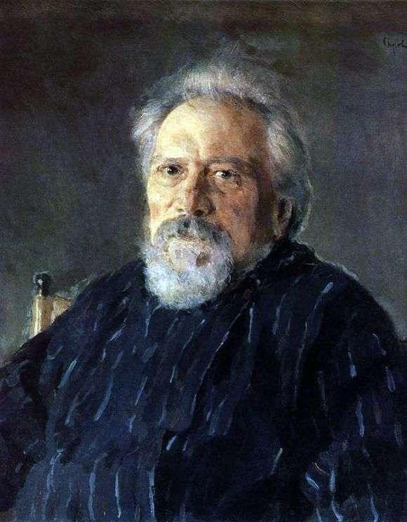 Описание картины Валентина Серова «Портрет Н. С. Лескова»