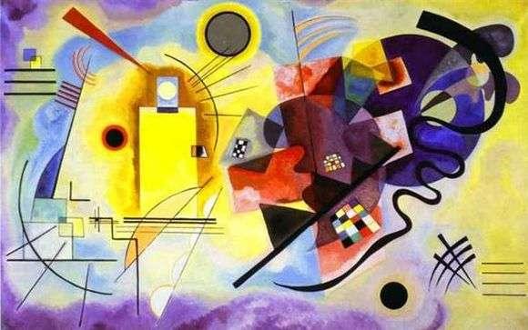 Описание картины Василия Кандинского «Желто красно синий»