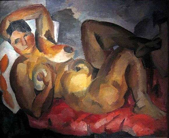 Описание картины Роберта Фалька «Обнаженная»