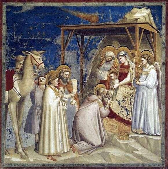 Описание картины Джотто ди Бондоне «Поклонение волхвов»