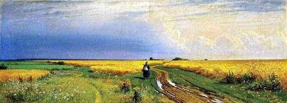 Описание картины Ивана Шишкина «Дорога во ржи»