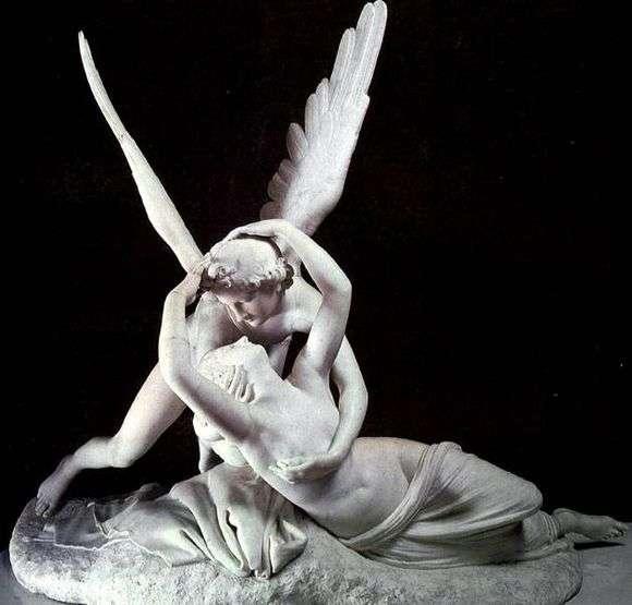 Описание скульптуры Антонио Канова «Амур и Психея»