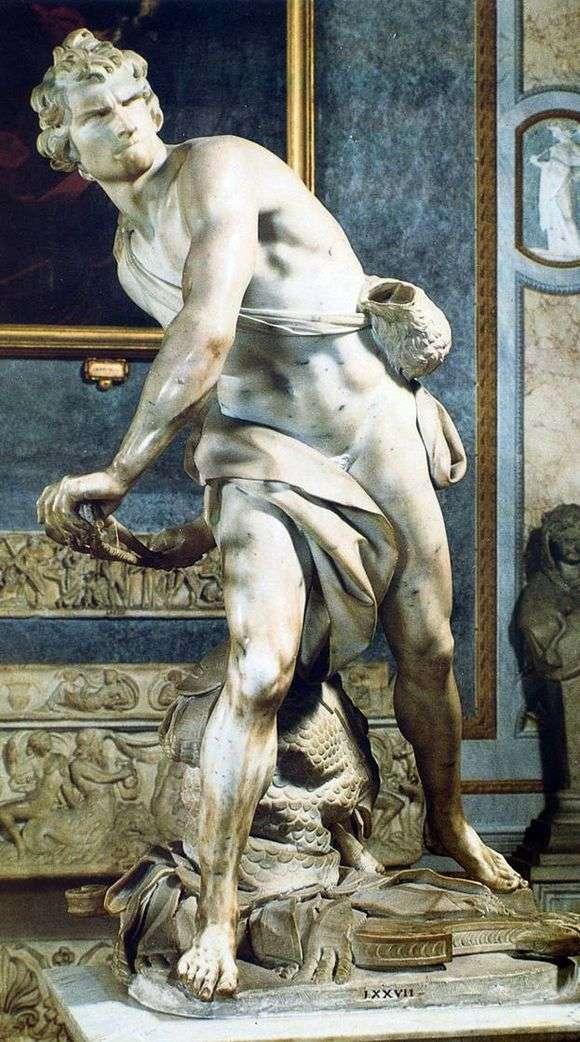 Описание скульптуры Джованни Бернини «Давид»