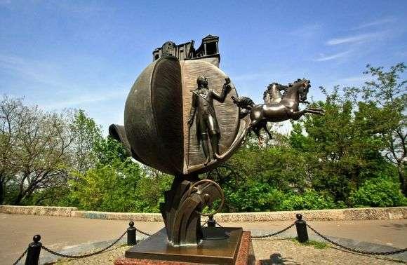 Описание памятника апельсину в Одессе