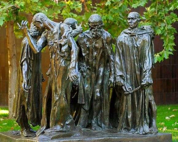 Описание скульптуры Франсуа Огюста Родена «Граждане Кале»