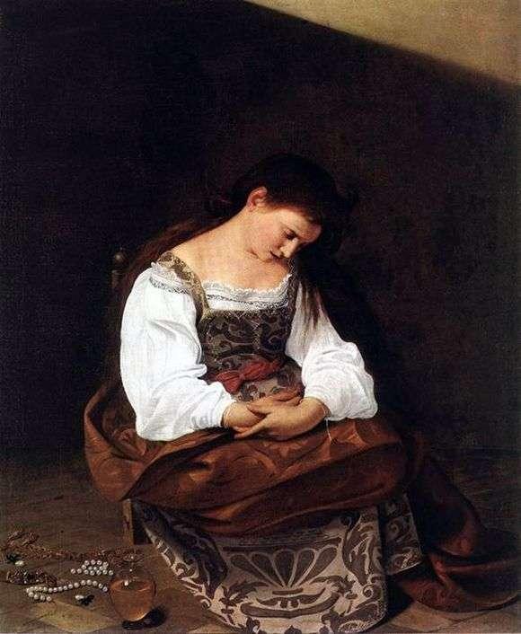 Описание картины Караваджо «Кающаяся Мария Магдалина»