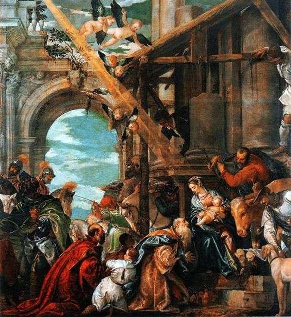 Описание картины Паоло Веронезе «Поклонение волхвов»