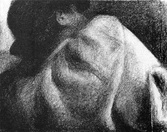 Описание картины Жоржа Сера «Спящий»