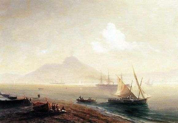 Описание картины Ивана Айвазовского «Морской залив»
