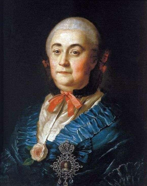 Описание картины Алексея Антропова «Портрет А. М. Измайловой»