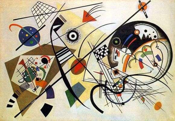 Описание картины Василия Кандинского «Секущая линия»