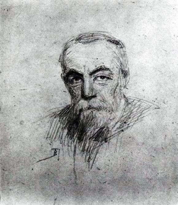 Описание картины Василия Поленова «Автопортрет»