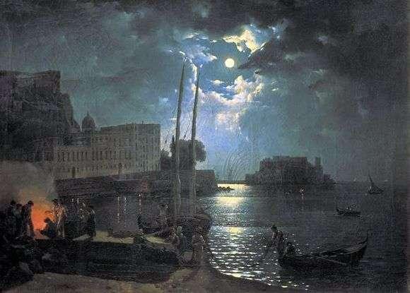 Описание картины Сильвестра Щедрина «Лунная ночь в Неаполе»