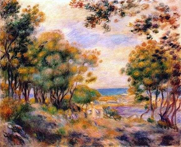 Описание картины Ренуара «Пейзаж в Больё»