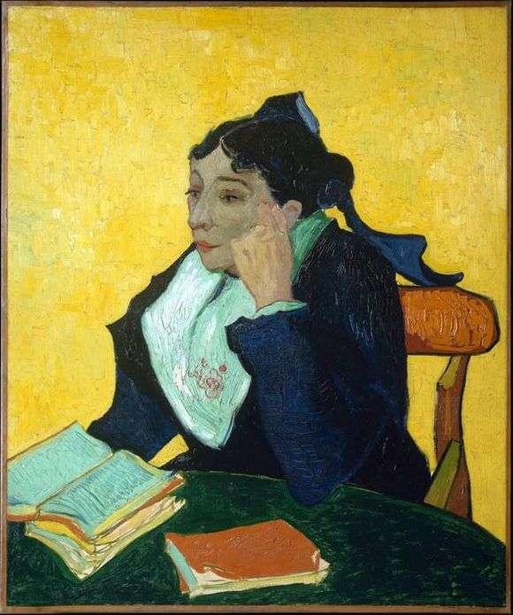 Описание картины Винсента Ван Гога «Арлезианка»
