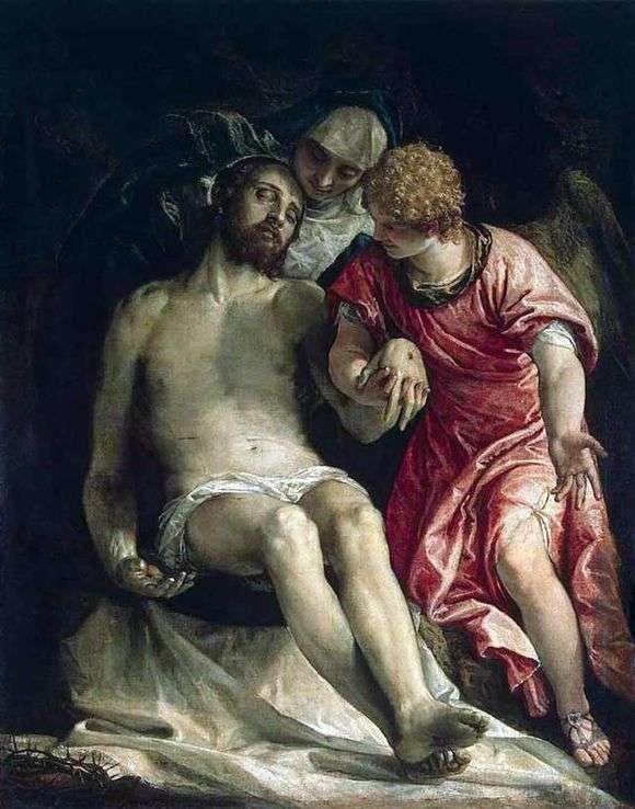 Описание картины Паоло Веронезе «Оплакивание Христа»