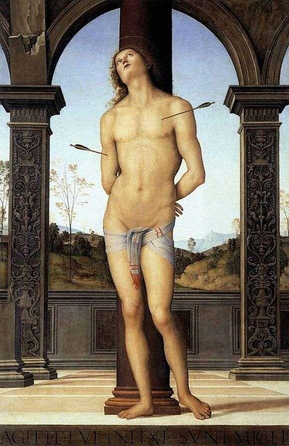 Описание картины Пьетро Перуджино «Святой Себастьян»