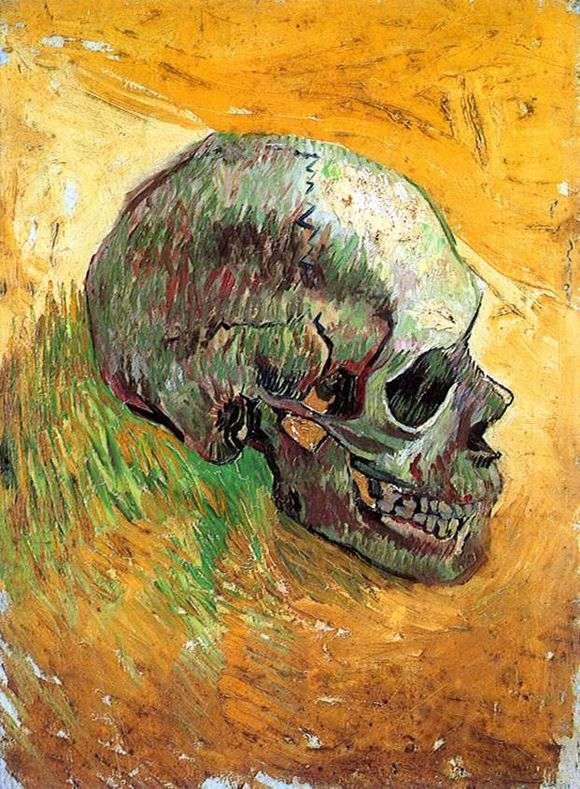 Описание картины Винсента Ван Гога «Череп»