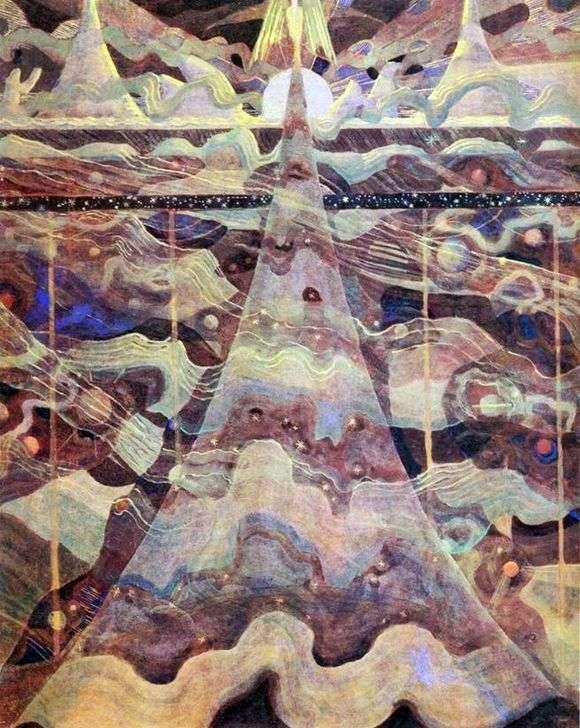 Описание картины Микалоюса Чюрлёниса «Соната Звезд»