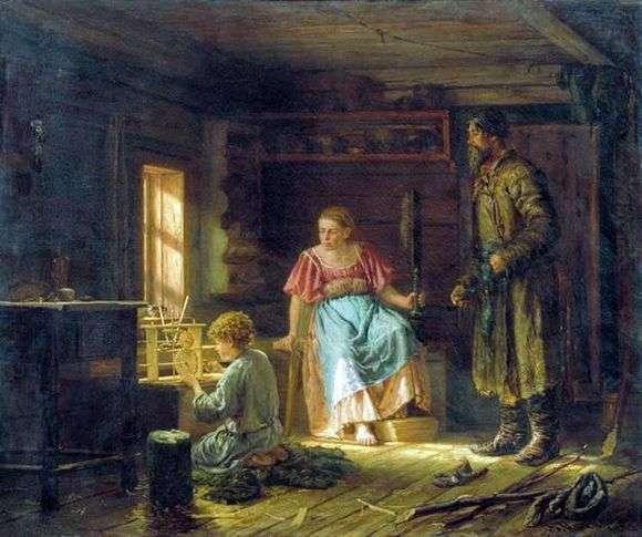 Описание картины Василия Максимова «Мальчик механик»