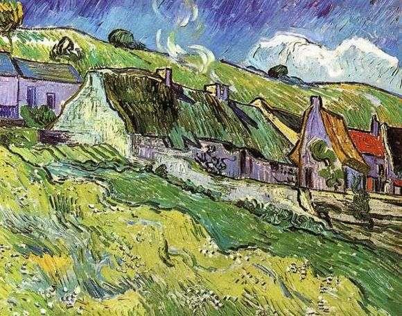 Описание картины Винсента Ван Гога «Хижины»