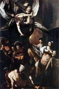 Описание картины Караваджо «Семь деяний милосердия»