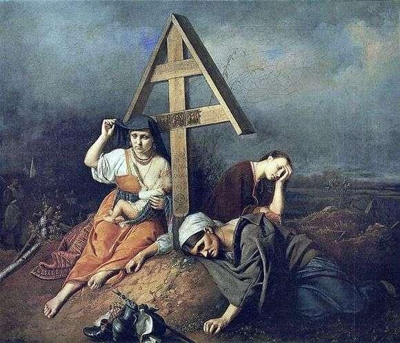 Описание картины Василия Перова «Сцена на могиле»