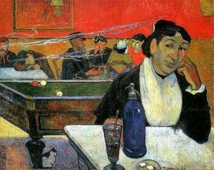 Описание картины Поля Гогена «Ночное кафе в Арле»