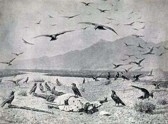 Описание картины Василия Верещагина «Забытый»
