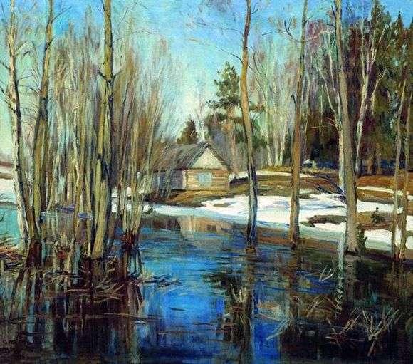 Описание картины Станислава Жуковского «Весна»