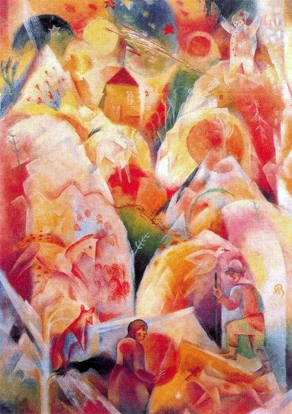 Описание картины Альбрехта Блоха «Зима»