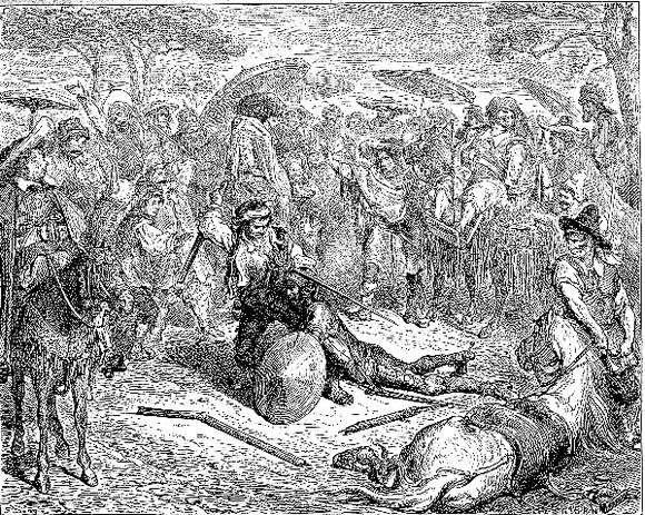 Описание картины Густава Доре «Дон Кихот»