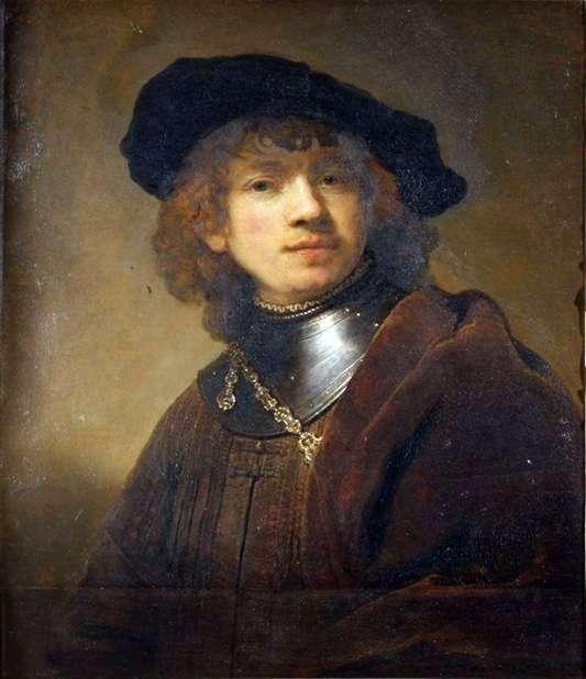 Описание картины Рембрандта «Портрет молодого человека»