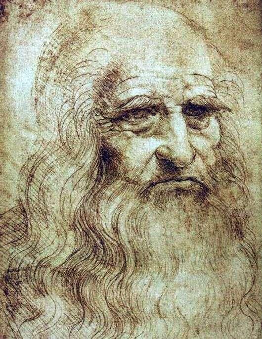 Описание картины Леонардо да Винчи «Автопортрет»